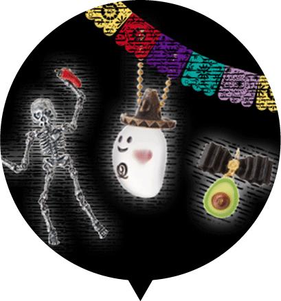 Q-pot. ハロウィンコレクション DEATH PARADE